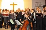 Adventskonzert 2011 zusammen mit Joyful Voices und dem Chor der Anna-Freud-Schule