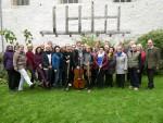 Der Gesangskreis zu Gast im Geistlichen Zentrum Bursfelde, Oktober 2019
