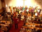 "Frühlingskonzert am 14. Mai 2011 mit dem CelloTrio ""JoLuRa"""